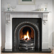 Kingston Carrera Marble Mantel with Henley Arch Gas Package.jpg