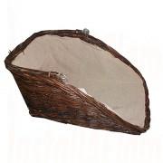 Natural High Backed Log Basket