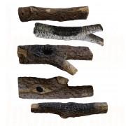 Large Ceramic Logs (Painted) Various sizes.jpg