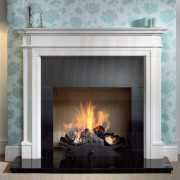Bartello Agean Limestone Mantel, Small Nexus Basket (Solid Fuel).jpg