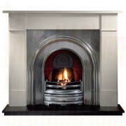 Brompton Agean Limestone Fireplace with Crown Full Polished Arch.jpg