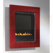 eko 5010 Flueless Gas Fire, Red Frame.jpg