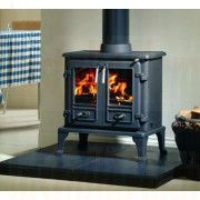 The Firefox 8 Twin Door Multifuel Stove