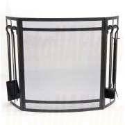 Fireguard Sentry Screen with Tool Set
