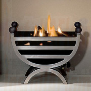 The Cottage Firebasket Small (polished)