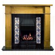 Worcester Pine Mantel with Sovereign Black Tiled Insert (Solid Fuel).jpg