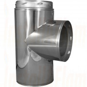 Twin Wall Flue - 90° Tee - 152mm Ø.jpg