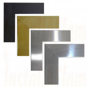 Flat Frames, Black,Brass,Brushed,Polished Flat Frames