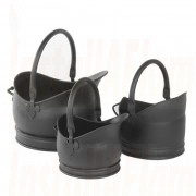 Cathedral Bucket Set in Black finish