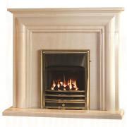 Ellerby Fireplace in Perla Marble with High Efficiency Gas Fire.jpg