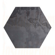 Hexagon - Brazilian Black Natural Slate.jpg