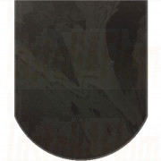 Medium D Rectangle - Brazilian Black Natural Slate.jpg