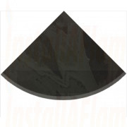 Quarter Circle - Brazilian Black Natural Slate.jpg