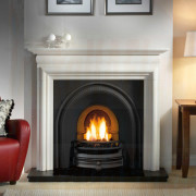 Asquith Limestone with Traditions Black Arch Fireplace suite.jpg