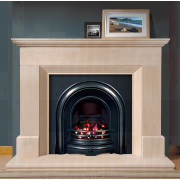 Warwick Portuguese Limestone Fireplace cannot fail to impress the viewer, impressive features a fireplace to compliment any room.jpg