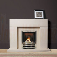Amarante Portuguese Limestone Suite, a remarkable stylish design fireplace to compliment any room setting.jpg