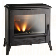 Invicta Modena 12Kw Woodburning Stove (Black)