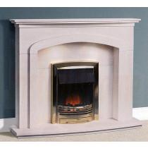 Arialva Portuguese Limestone Fireplace