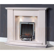 Assafora Portuguese Limestone Fireplace