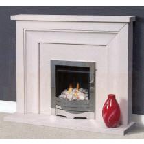 Correla Portuguese Limestone Fireplace