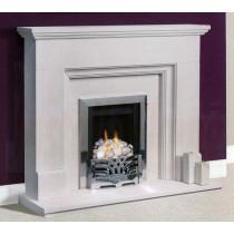 Penido Portuguese Limestone Fireplace