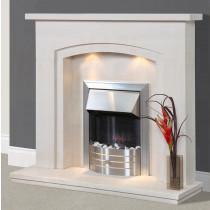 Amoreira Portuguese Limestone Fireplace