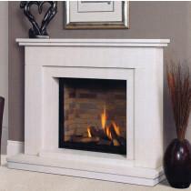 Vedros Portuguese Limestone Fireplace