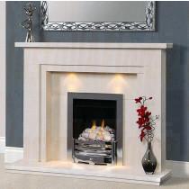 Aerveirra Portuguese Limestone Fireplace