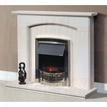 Torrao Portuguese Limestone Fireplace