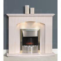 Angos Portuguese Limestone Fireplace