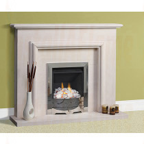 Caselas Portuguese Limestone Fireplace