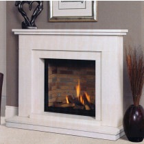 Vedros Portuguese Limestone Fireplace