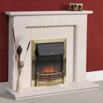 Velho Portuguese Limestone Fireplace