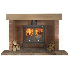Firefox 12 Multi-Fuel Stove Complete Fireplace