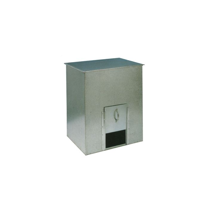 Galvanized Coal Bunker