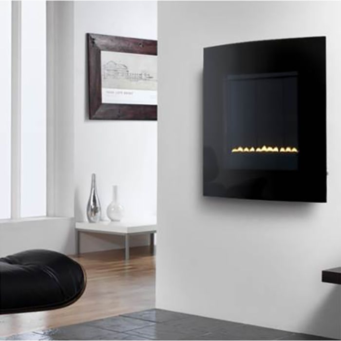 eko 5020 Flueless Gas Fire (Curved Screen)
