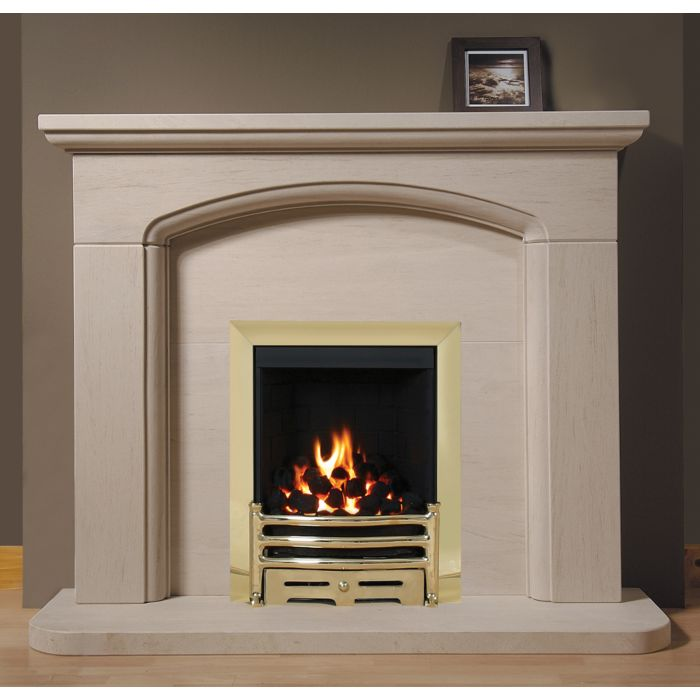 Kensington Portuguese Limestone Fireplace, This stunning limestone surround is designed to compliment and give your home that finishing touch.jpg