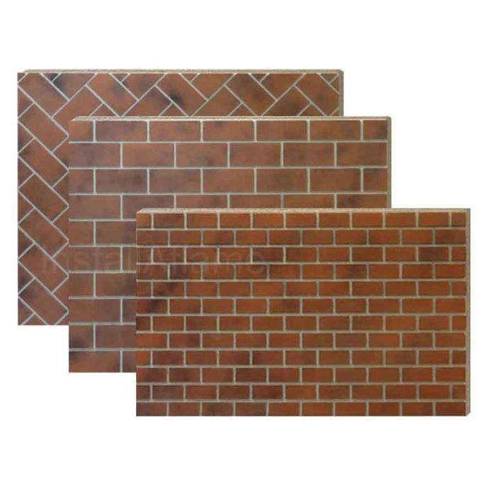 Painted Brickyard Panels