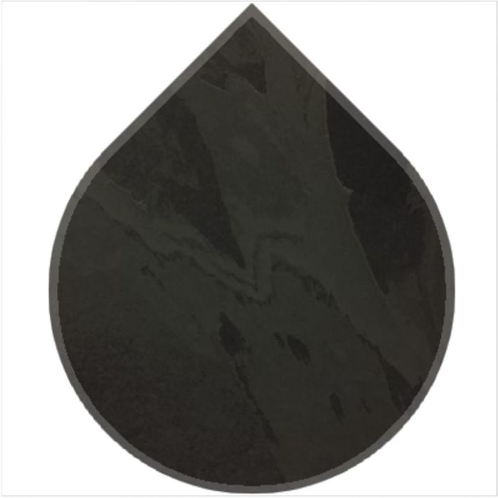 Teardrop - Brazilian Black Natural Slate.jpg