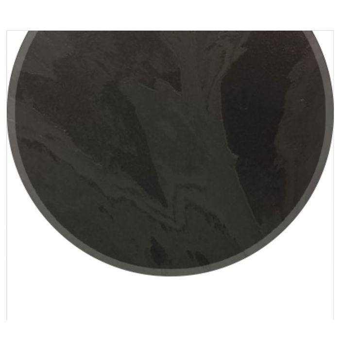 Three Quarter Circle - Brazilian Black Natural Slate.jpg