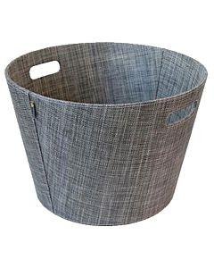 Aduro Proline felt firewood basket, Khaki.jpg