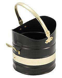 Adeney Bucket, Black/Brass, 10
