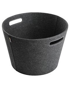Aduro Proline firewood basket, Ø45 Grey felt.jpg