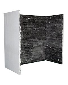 Black Quartz Slate Chamber