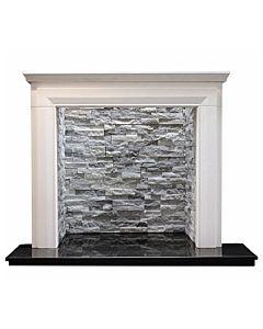 Langdon Agean Limestone Fireplace.jpg