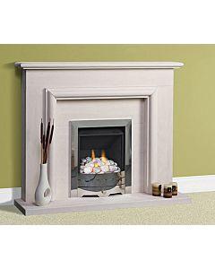 Portuguese Limestone Fireplace, Caselas