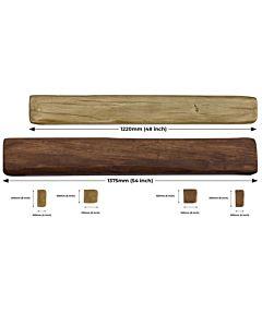 Moulded,Wood Effect Light and Dark Oak Beams.jpg