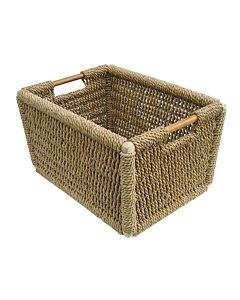 "Rushden Willow Log Basket,  21"".jpg"