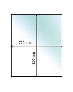 Small Rectangular (Transparent)