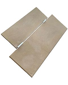 Soft Grey & Buff Front and Back-Bevelled Yorkstone Hearth.jpg